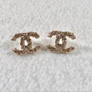Authentic Vintage CHANEL Twist Earrings